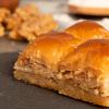 Home Made Baklava With Walnut